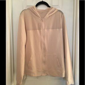 🍒Victoria Sport Cream Mesh Jacket L